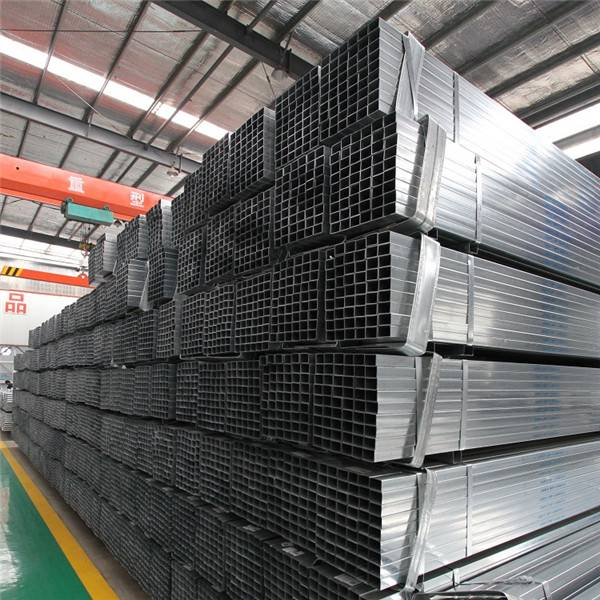 GI Square Steel Pipe/HOT Dipped Galvanized Steel Pipe/Tube Structure Building Material