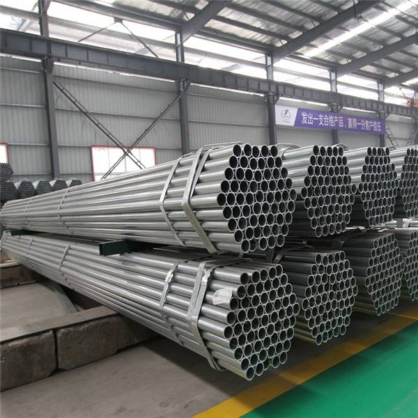 1.5 Inch DN40 48.3mm Scaffolding Tube Pre Galvanized Steel Pipe Price