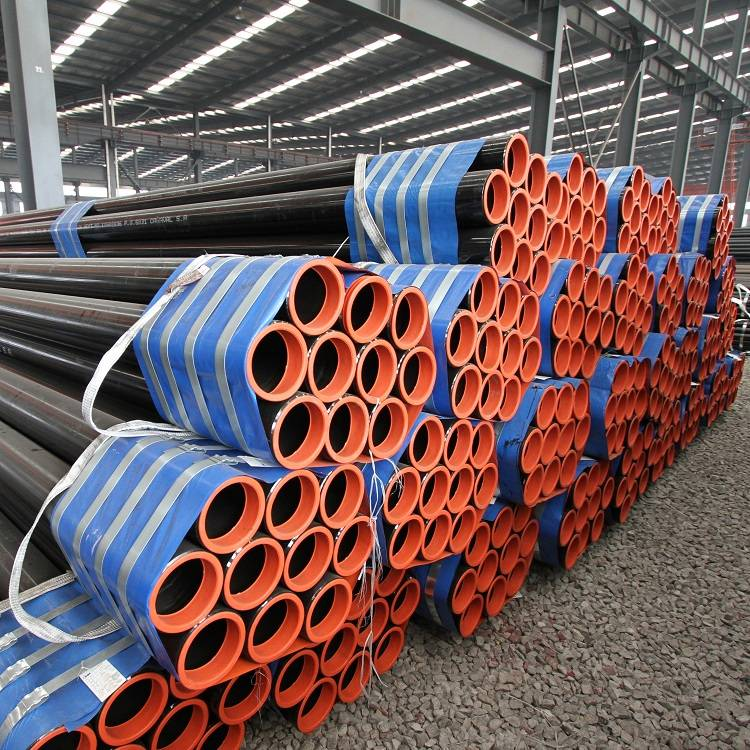 Wholesale Steel And Tube Roofing Factory - Anti-rust Painted Ms Mild Carbon Steel Pipe – TOPTAC