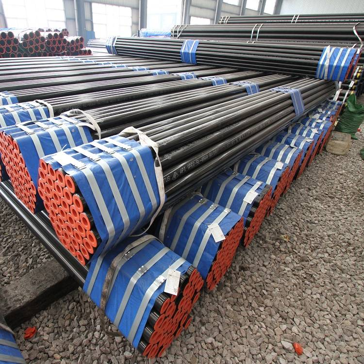 China Galvanized Steel Culvert Pipe Pricelist - Black Painted Carbon Steel Pipe – TOPTAC
