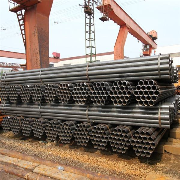 Wholesale Mild Steel Seamless Pipe Factory - MS ERW Welded Black Steel Pipe/Tube Black Carbon ERW Steel Pipe – TOPTAC