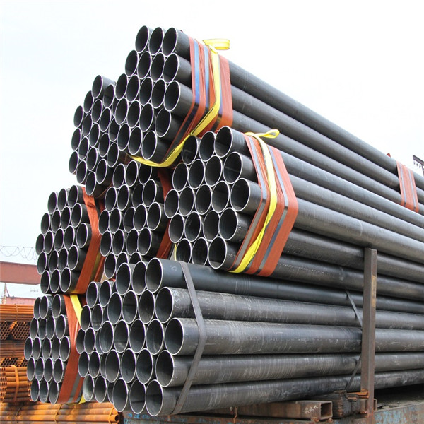 3Inch ERW Welded Black Mild Carbon Steel Pipe