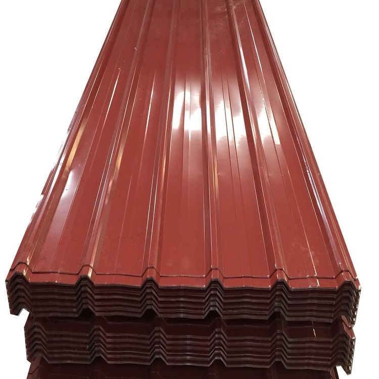 Cheap Price Corrugated Ppgi Steel/Metal/Iron Roofing Sheet In Ral Color Gold Supplier Featured Image
