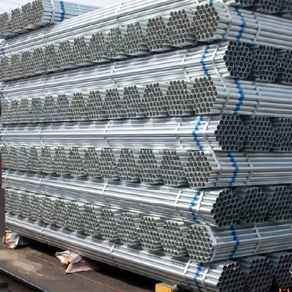 Gi Pipe List! 40-60g Zinc Coating Pre Galvanized Round Steel Pipes