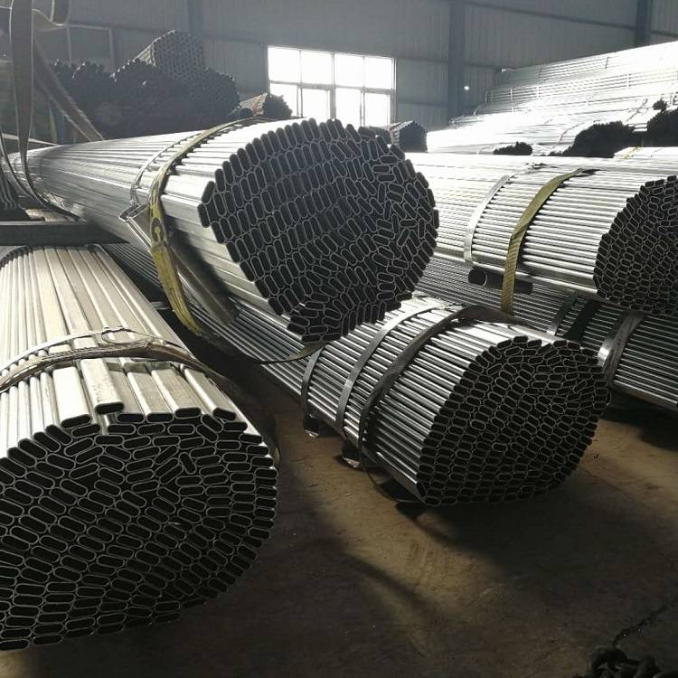 Galvanized Oval Tube 13*33