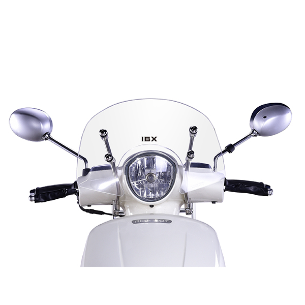 Factory best selling Harley Iron 883 Windshield - Peugeot Django Windshield – Shentuo