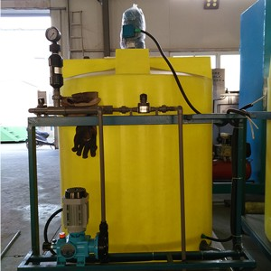 OEM High Quality Automatic Chemical Dosing System Factory - ICE Chemical Dosing System for Water Treatment in Cooling Tower System – Yubing
