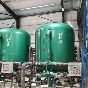 ICE High Efficiency Sand Filtration System for Cooling Towers' Circulation Water Treatment