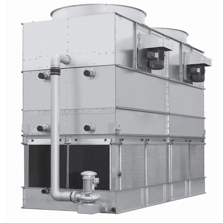 High-efficiency Evaporative Condenser for Industrial Refrigeration / Cold Chain Process / HAVC System