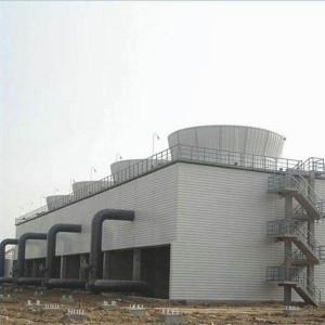 OEM High Quality Industrial Open Loop Cross-Flow Cooling Tower Factories - Induced Draft Cross-flow Towers for Power Generation, Large-scale HVAC and Industrial Facilities – Yubing
