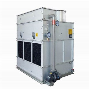 China Wholesale Industrial Closed Loop Cross-Flow Cooler Products - Cross-flow Closed Circuit Cooling Towers / Evaporative Closed-circuit Coolers  – Yubing