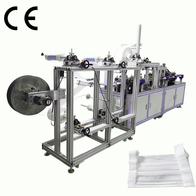 Discountable price Mohindra Paper Bag Machine - Small Automatic Flexible Ear face Mask making Machine – ICT