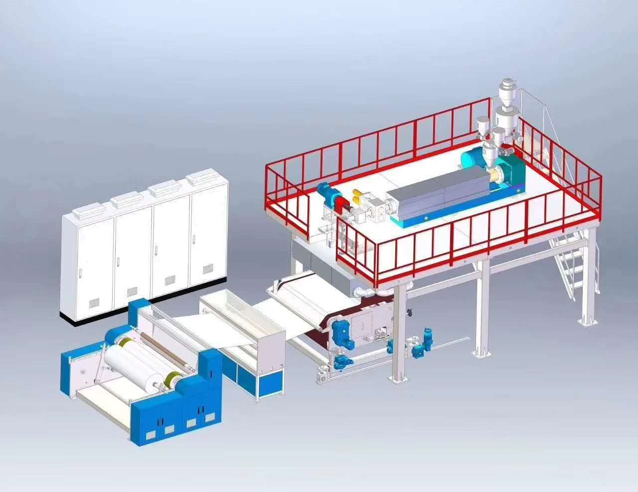 China Automated Stacker Crane Factories - PP Melt-blown Nonwoven Fabric Production line for medical surgical face mask – ICT