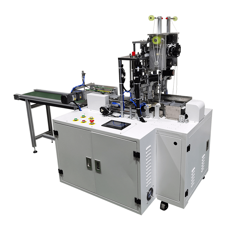 China Pure Water Sealing Machine Factory - high speed 1+1 flat mask machine 130-150pcs/min-mask machine-face mask machine-kn95 mask machine – ICT