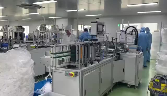 Good Quality Pp Meltblown Sheet Machine - With Video Guidance Sami Mask Making Machine Drawing – ICT