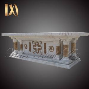 Rapid Delivery for Marble Last Supper Sculpture – Customized Size Modern Church Marble Altar Table Manufacturers –  Ideal Arts