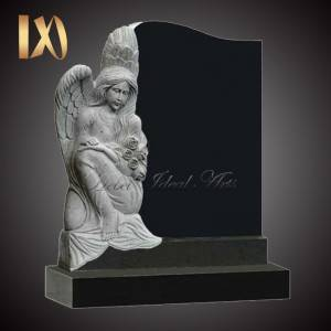 Personlized Products Greek Marble Columns - Factory cost sitting angel design Headstone&monument for sale –  Ideal Arts