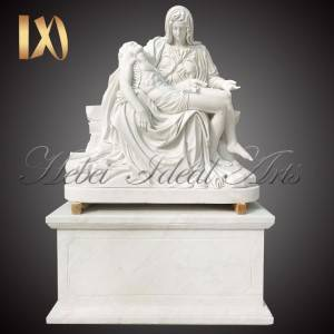 China Wholesale White Marble Column Base Manufacturers –  Factory outlet marble pieta statue for sale –  Ideal Arts