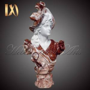China Wholesale Church Altar Suppliers –  Marble Bust of lady in hat for Sale –  Ideal Arts