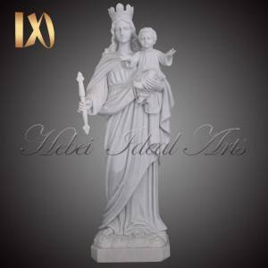 Life Size marble Statue of Lady of Mount Carmel for Sale