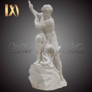 China Wholesale Marble Pillar Design Factory –  Factory outlet marble Poseidon statue for sale –  Ideal Arts