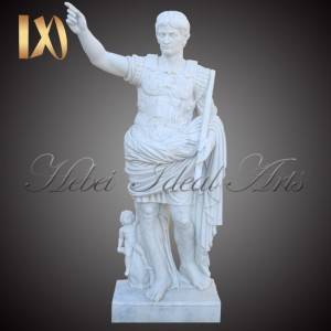 Factory wholesale Marble Angel Heart Headstone - Life-size Augustus marble statue for sale –  Ideal Arts