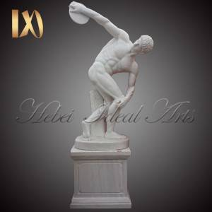 Online Exporter Marble Last Supper Sculpture - Famous Life Size Discobolus  Marble Statue –  Ideal Arts