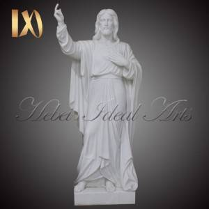 Top Suppliers Catholic Religious Statues - Life-size Marble Jesus Sacred Heart Sculpture –  Ideal Arts
