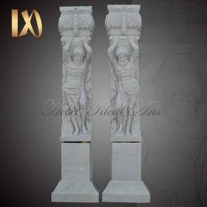 Reasonable price Marble Pillars For Interior - High Quality Granite Marble Column for Home Decor Suppliers –  Ideal Arts