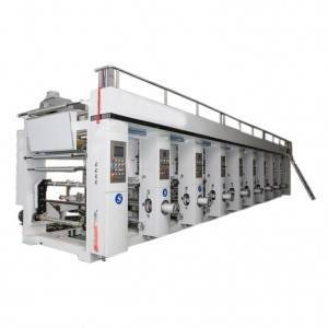 Computer Control 6 Color BOPP Printing Machine