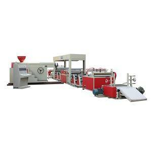 One Extruding Two Die Lamination Machine