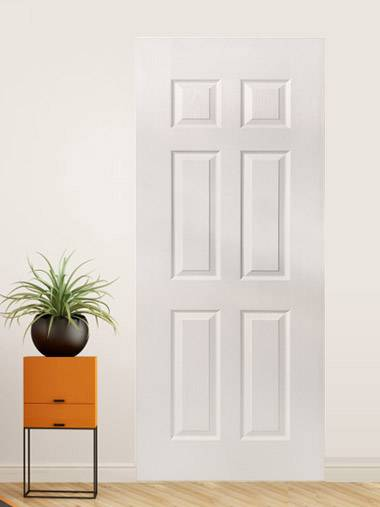 China Cheap price Solid Wood Closet Doors - MDF Compound Door 12 – SCM