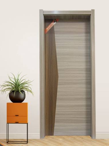 Factory Cheap Hot Custom Wood Door - MDF Compound Door 08 – SCM
