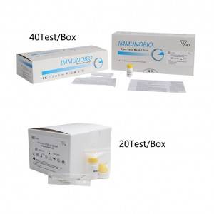 Hot sale Factory Rapid Influenza Diagnostic Test - SARS-CoV-2 IgGIgM Antibody Rapid Test Kit for Human – Immuno
