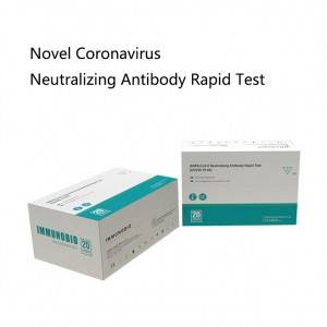 Discount wholesale Micropoint Rapid Diagnostic Test - IMMUNOBIO Novel Coronavirus Neutralizing Antibody Rapid Test – Immuno