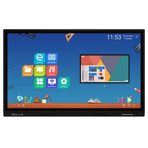 Special Design for Large Format Interactive Display - LYNDIAN Q Series Interactive Flat Panel Display Android 6.0 1+8G – Lindian