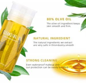 vegan eco makeup remover oil hydrating private label cleansing oil cleansing make up remover