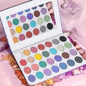 OEM manufacturer Pressed Glitter Eyeshadow - Eyeshadow palette private label custom wholesale eyeshadow pigment palette natural eyeshadow palette – Iris Beauty