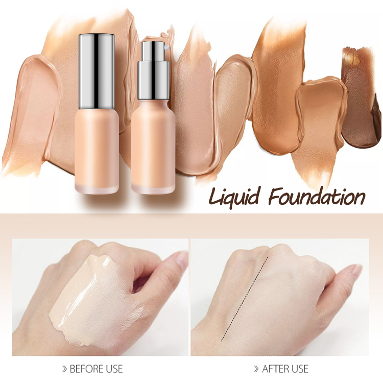 OEM manufacturer Pale Foundation - OEM face foundation makeup liquid wholesale custom private label vegan foundation cosmetic – Iris Beauty
