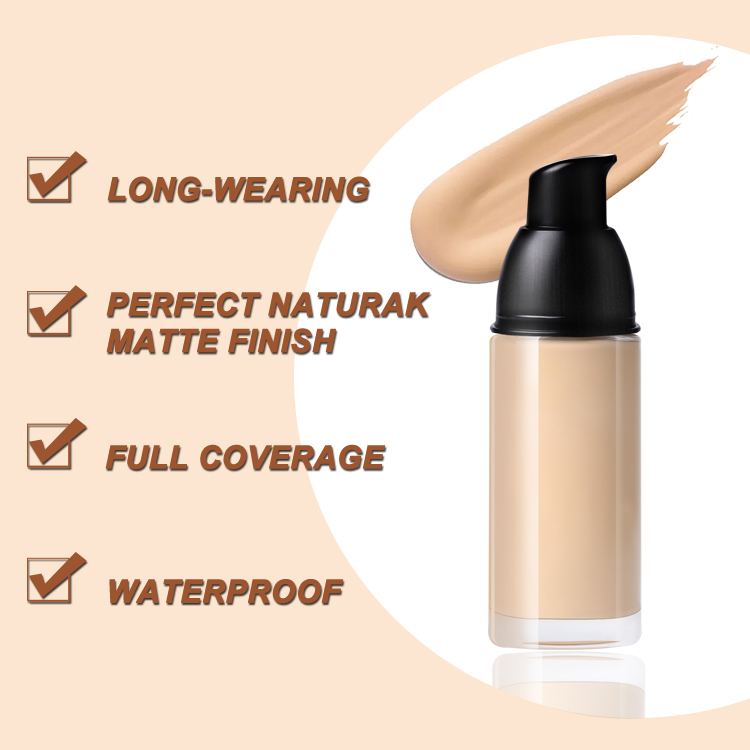 High reputation Hydrating Foundation - High quality foundation liquid full coverage foundation private label waterproof makeup foundation liquid – Iris Beauty