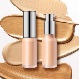 Hot Sale for Makeup Highlighter With Private Label - OEM face foundation makeup liquid wholesale custom private label vegan foundation cosmetic – Iris Beauty
