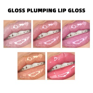 custom lip gloss private label glitter lip gloss plumper vegan shimmer lipgloss base