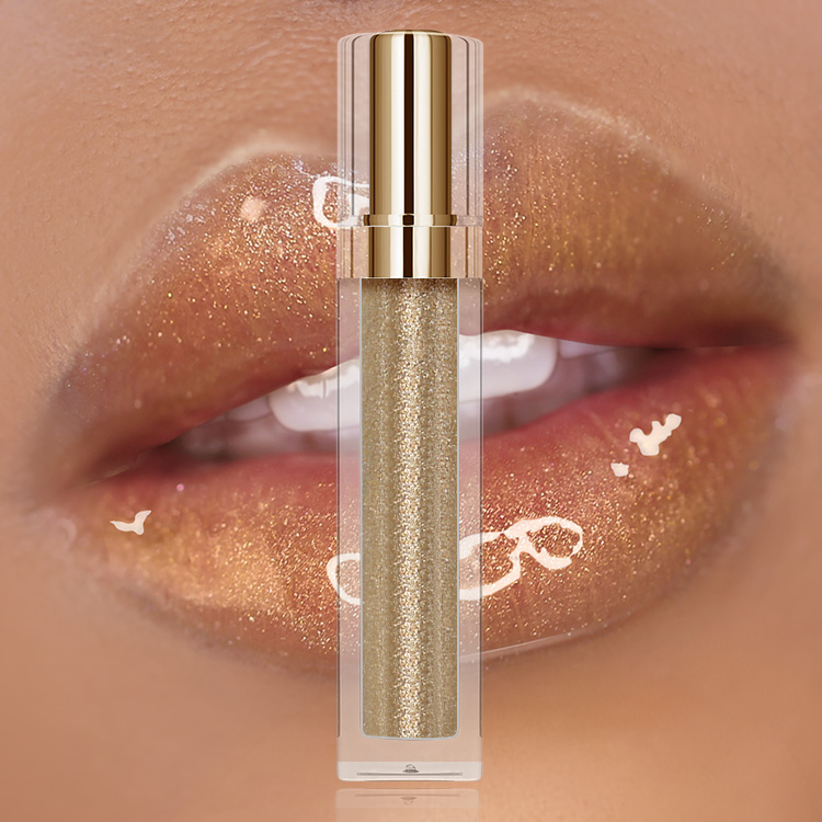 custom lip gloss private label glitter lip gloss plumper vegan shimmer lipgloss base Featured Image