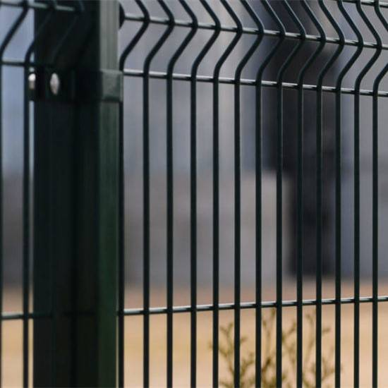 Garden Wire Mesh Fencing With Heavy Steel Structure