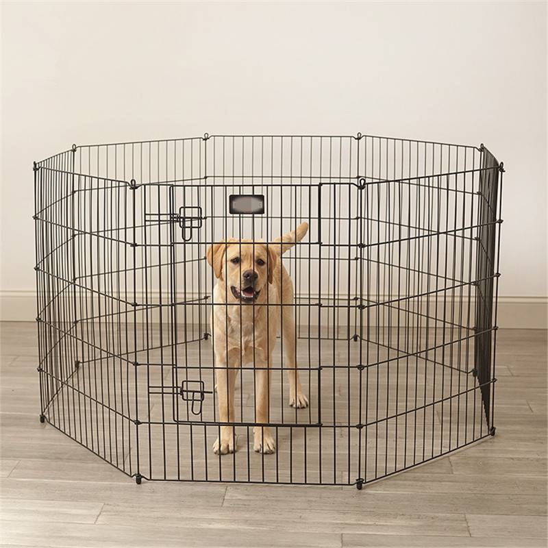 Collapsible Dog Cage Kennel Playpen Heavy Duty Pet Exercise Pen with Low Price