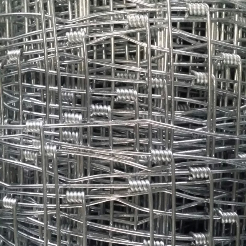 Flexible Woven Hinge Joint Field Wire Fence For Grassland
