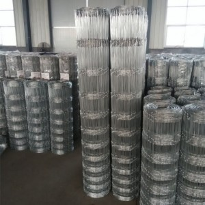 12.5 GA Steel Woven Field Fence Class 1 Galvanized Coating
