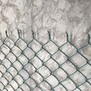 Standard Knuckled Selvage Chain Link Mesh
