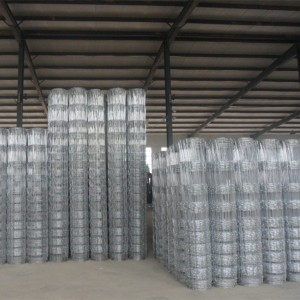 Flexible Agricultural Cattle Wire Fencing Corrosion Resistance
