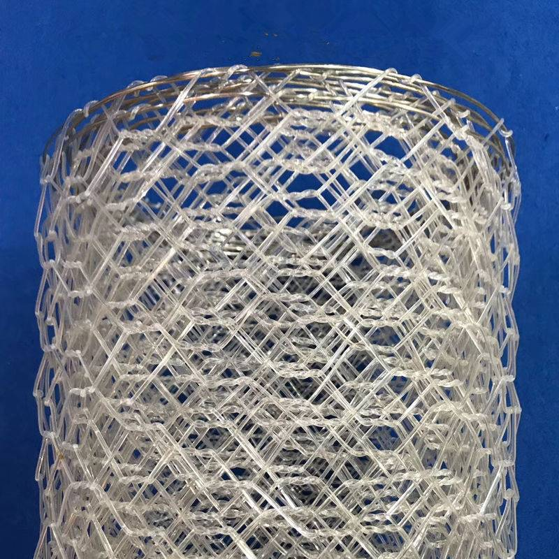 Polyster Hexagonal Chicken Wire Netting for River / Gabion Wire Mesh
